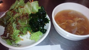 有楽町の韓国料理店