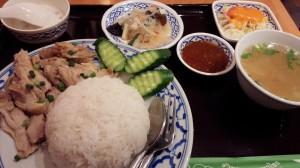 タイ料理のカオマンガイ
