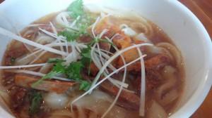 ネギチャーシュー刀削麺