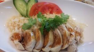 神谷町の海南鶏飯